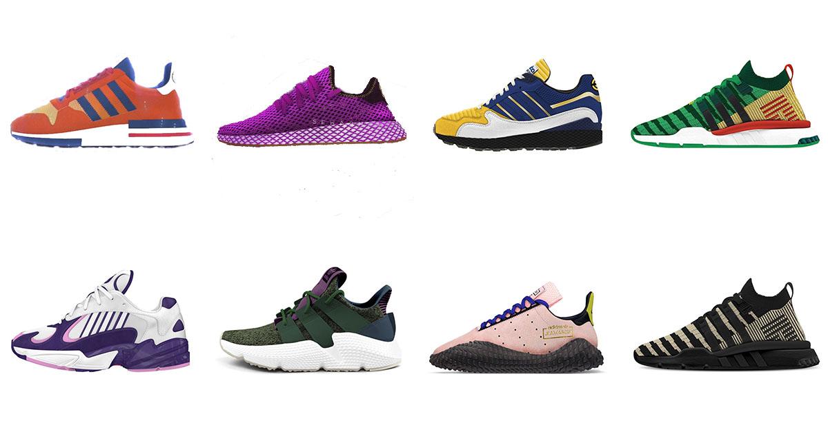 huge selection of 22b65 08040 Découvrez lintégralité de la collection Adidas x Dragon Ball Z  Spotern