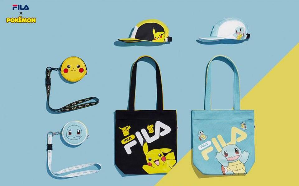 Fila x Pokemon Sneakers Launching in South Korea this