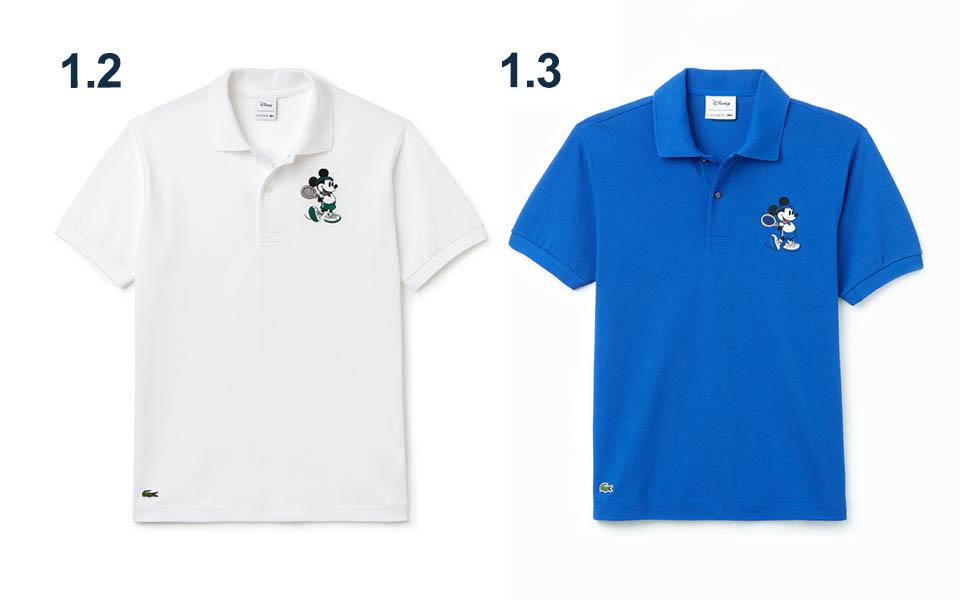 56e95357be Disney x Lacoste : Une collection anniversaire autour du tennis ...