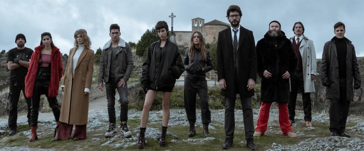 Get on Netflix : Money heist Season 3 is back ! | Spotern