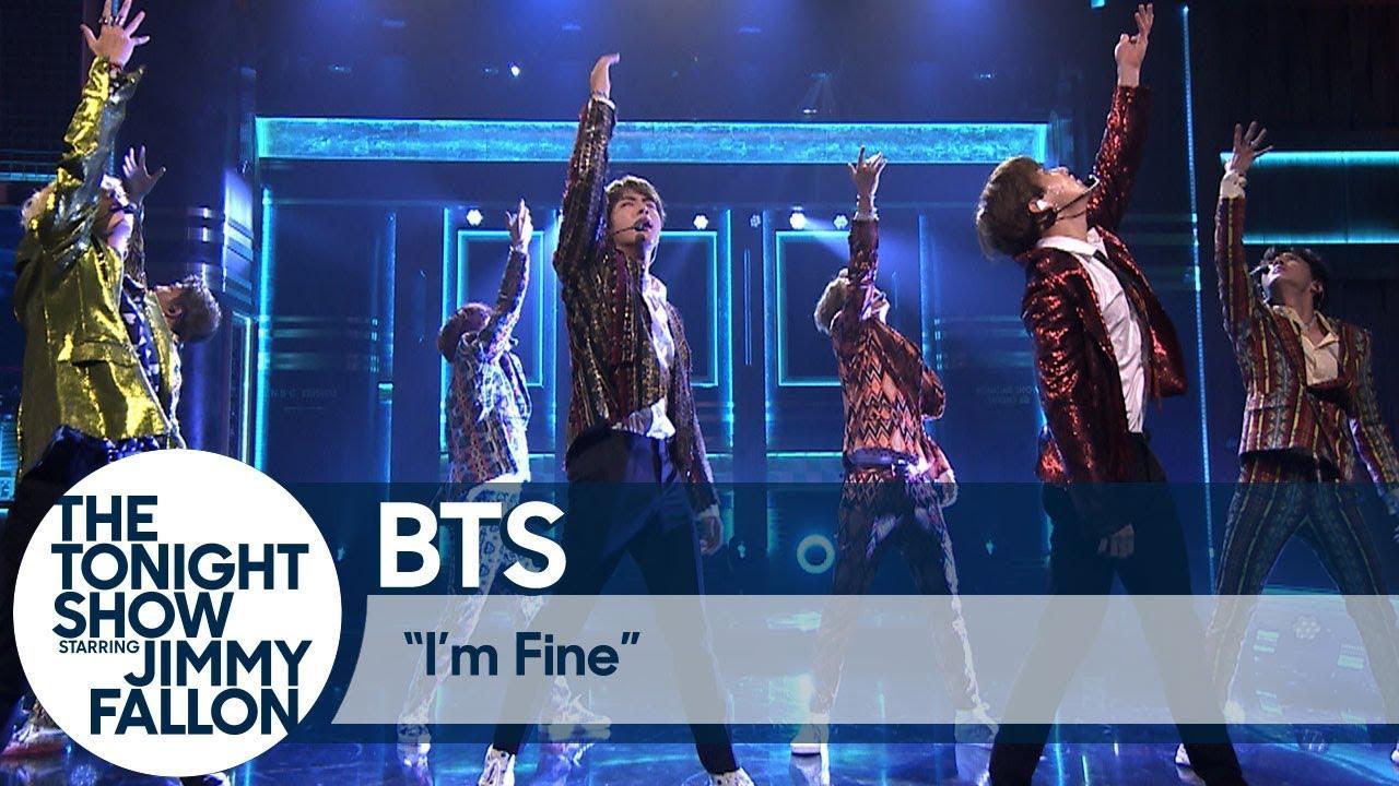 "BTS: ""I'm Fine"" | The Tonight Show Starring Jimmy Fallon"
