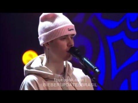 JUSTIN BIEBER - HOME TO MAMA (LIVE) 2015