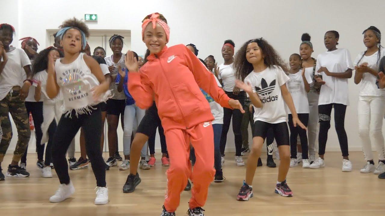 MAÏ AFRO DANCE KIDZ | Assi - Mata Batida ft. Rayvanny (Dance Class Video) by @maimouna.afrodance