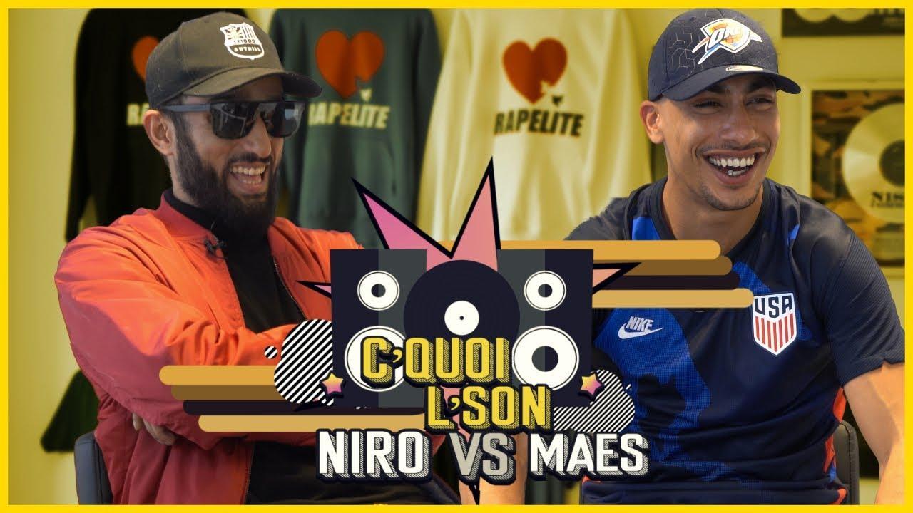 C'Quoi L'Son : Niro VS Maes sur Larry, Booba, Mister You, ZKR, 47Ter, Hamza et Ahmed Sylla
