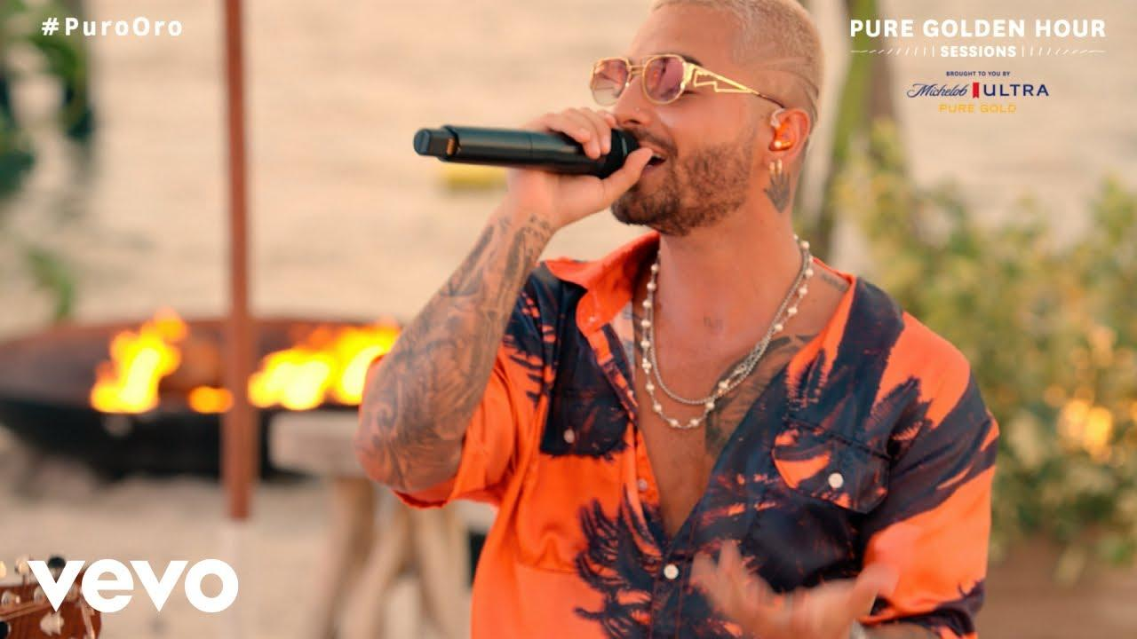 Maluma - ADMV (Live From Michelob ULTRA Pure Golden Hour Sessions)