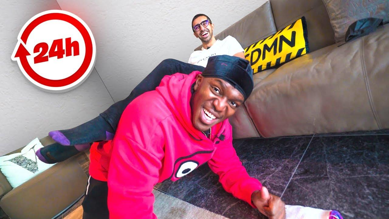 KSI WAS MY ASSISTANT FOR 24 HOURS!