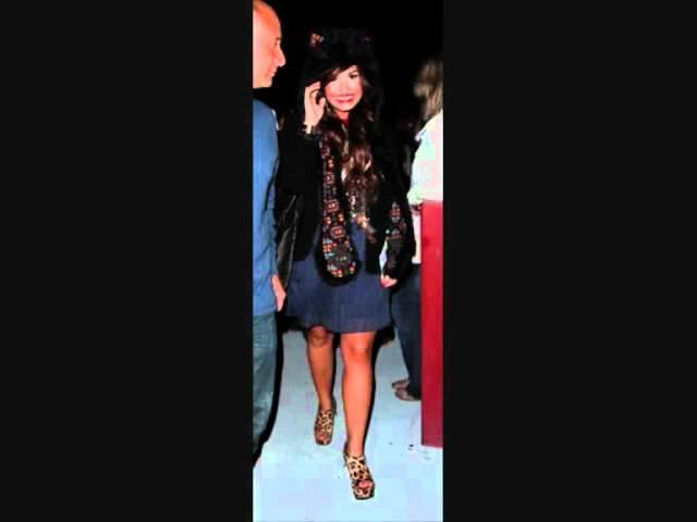 Demi Lovato leaving a studio in Burbank, CA on July 22, 2011