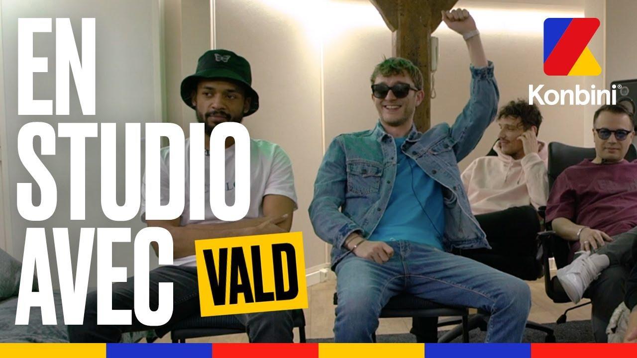 En studio avec Vald, Seezy et Échelon Records l Exclus en écoute l Konbini