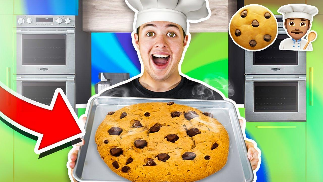 HOW TO BAKE THE WORLDS BIGGEST COOKIE!