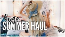 Summer Try-On Haul | CLOTHES, DECOR + BOOKS
