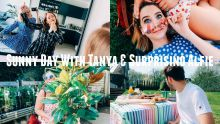 SUNNY DAY WITH TANYA & SURPRISING ALFIE