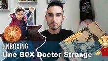 Une BOX avec UNIQUEMENT des goodies DOCTOR STRANGE !