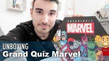 UNBOXING d'un quiz 100% MARVEL !