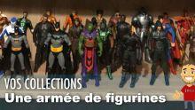 Il a une ARMÉE DE FIGURINES DC Comics ! - Vos COLLECTIONS geek