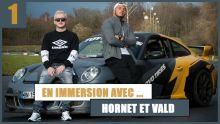 Hornet La Frappe et Vald : en mode circuit auto pour le tournage du clip « Valise » 🔥🔥🎥