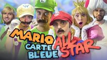 MARIO CARTE BLEUE ALL STAR (feat. Squeezie, Cyril, Natoo, Cyprien, Léo Le Pérave)