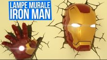 Lampe décorative Iron Man à LED !