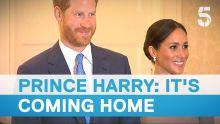 Meghan Markle and Prince Harry meet Ireland President Michael D Higgins   5 News