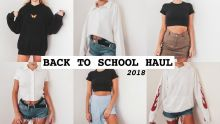 BACK TO SCHOOL CLOTHING HAUL 2018 (Try-On)