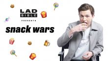 Snack Wars: Tom Holland Aka Spider-Man Eating British And American Snacks