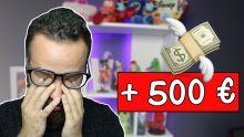J'AI PERDU PLUS DE 500 € .. EXPLICATION