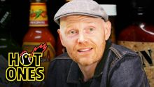 Bill Burr Gets Red in the Face While Eating Spicy Wings | Hot Ones