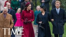 Meghan Markle And Kate Middleton Greet Onlookers Together On Christmas | TIME