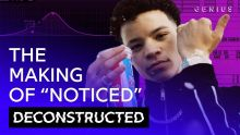 """The Making Of Lil Mosey's """"Noticed"""" With Royce David 