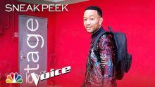 John Legend's First Day - The Voice 2019 (Sneak Peek)