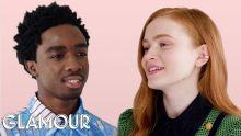 Stranger Things' Caleb McLaughlin and Sadie Sink Take a Friendship Test | Glamour