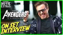 "AVENGERS: ENDGAME | On-set Interview with Robert Downey Jr. ""Tony Stark / Iron Man"""