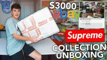 I Bought A Sketchy $3000 Supreme Collection Off eBay...