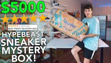 Unboxing A $5000.00 BEST Reviewed Hypebeast Mystery Box!