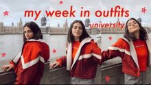 MY WEEK IN OUTFITS: university