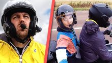 Vivre une semaine sur un scooter (à deux)
