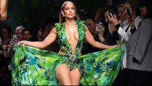 Jennifer Lopez @ VERSACE spring summer 2020