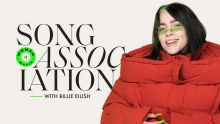 Billie Eilish Sings Miley Cyrus, H.E.R., and P!nk in a Game of Song Association | ELLE
