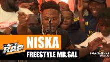 Niska - Freestyle Mr. Sal #RecordBattu #PlanèteRap