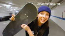 LEARNING HOW TO SKATEBOARD TO IMPRESS A BOY