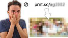 Ce site vous permet de voir des photos d'inconnus