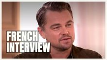 (France 2 Interview) Leonardo DiCaprio, Brad Pitt & Margot Robbie, Once Upon a Time... in Hollywood