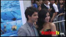 "Demi Lovato, Jonas Brothers, Pierce Brosnan ""Oceans"" Premiere"