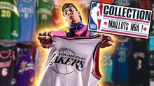 MON INCROYABLE COLLECTION DE MAILLOTS NBA ! (+2500 $ !)