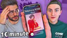 ON APPELLE LE TÉLÉPHONE ROSE (Canular téléphonique avec @FastGoodCuisine )