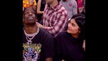 Kylie Jenner & Travis Scott at a Houston Rockets Game Last Night + KISS CAM (FULL VIDEOS)