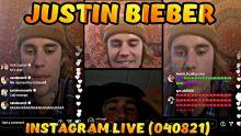 JUSTIN BIEBER INSTAGRAM LIVE FULL VIDEO | APRIL 8, 2021