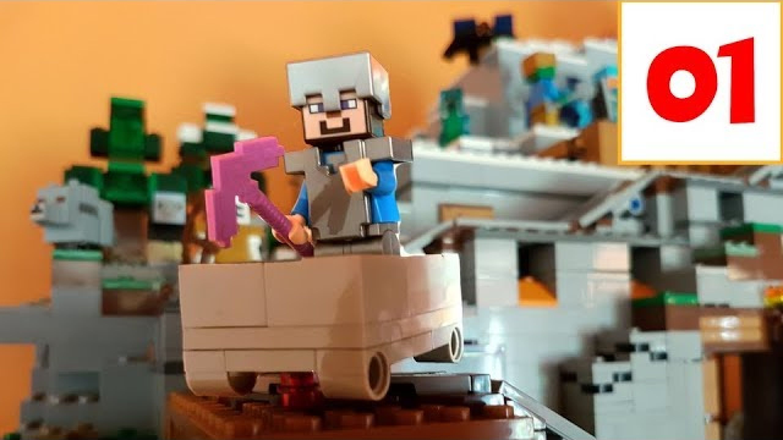 Lego Calendrier.La Mine Minecraft De Lego Presentation Du Calendrier De L