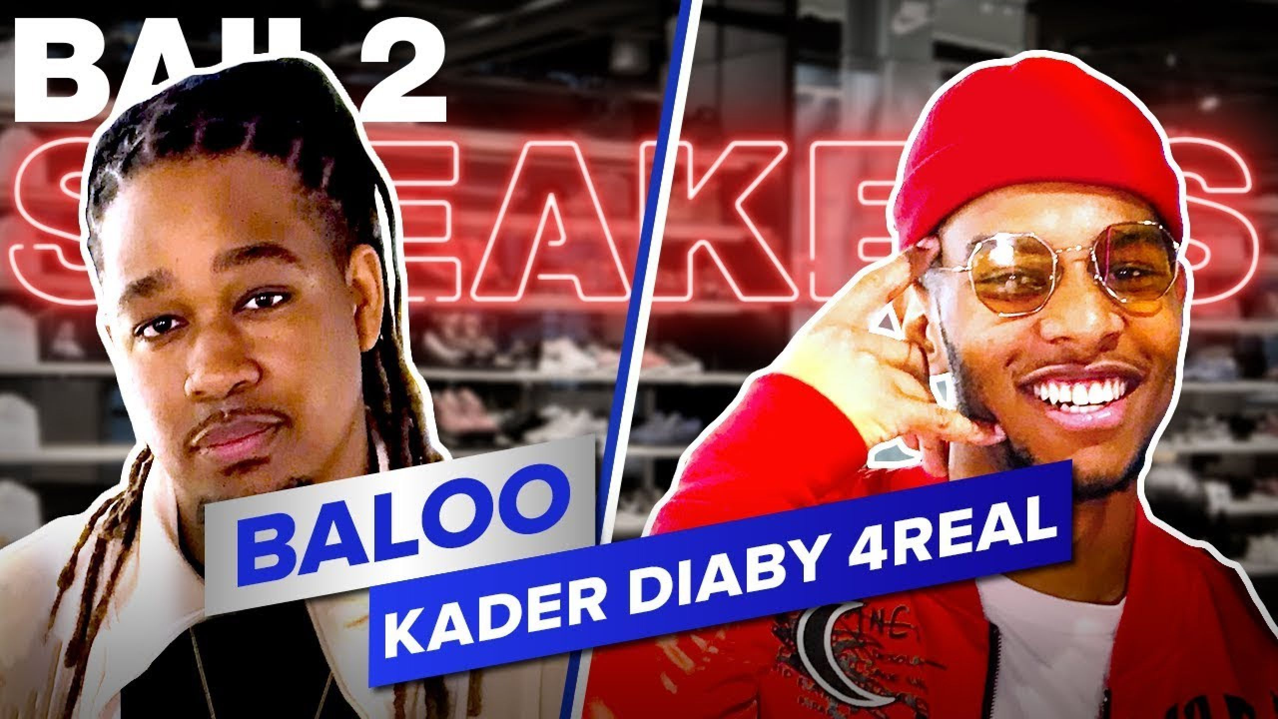 KADER DIABY 4REAL - Bail 2 Sneakers