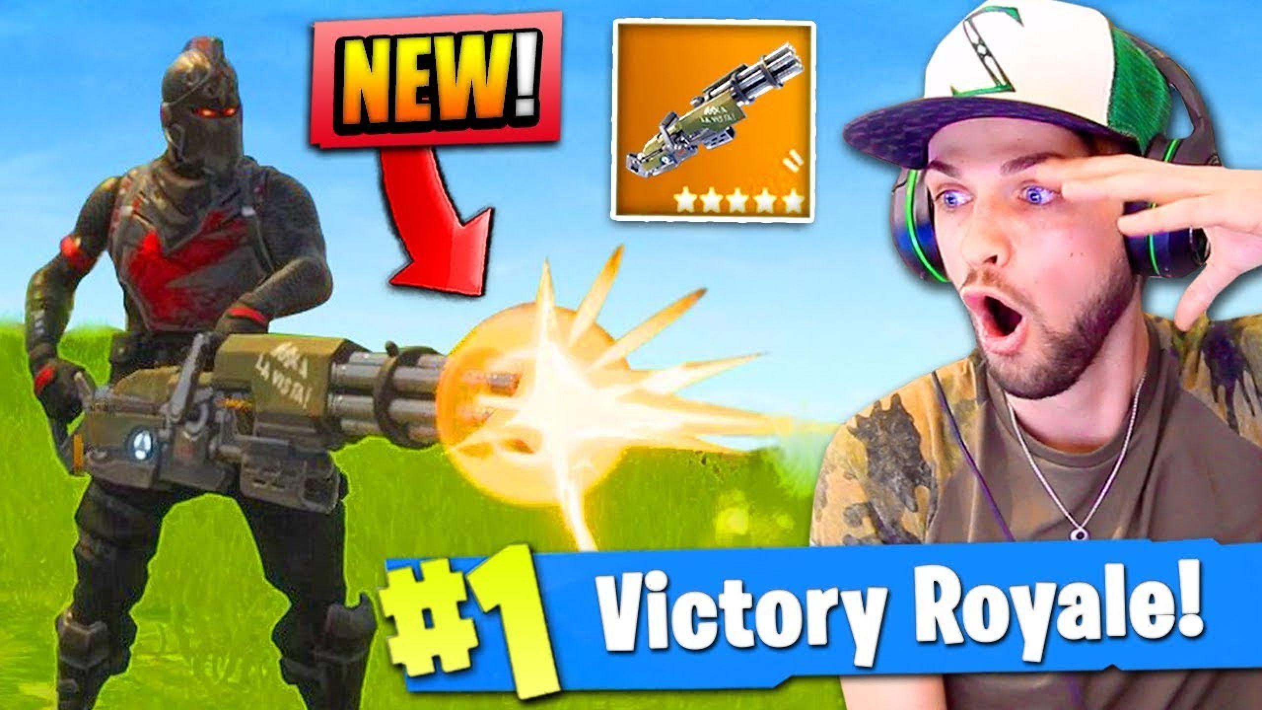 New Mini Gun Gameplay In Fortnite Battle Royale