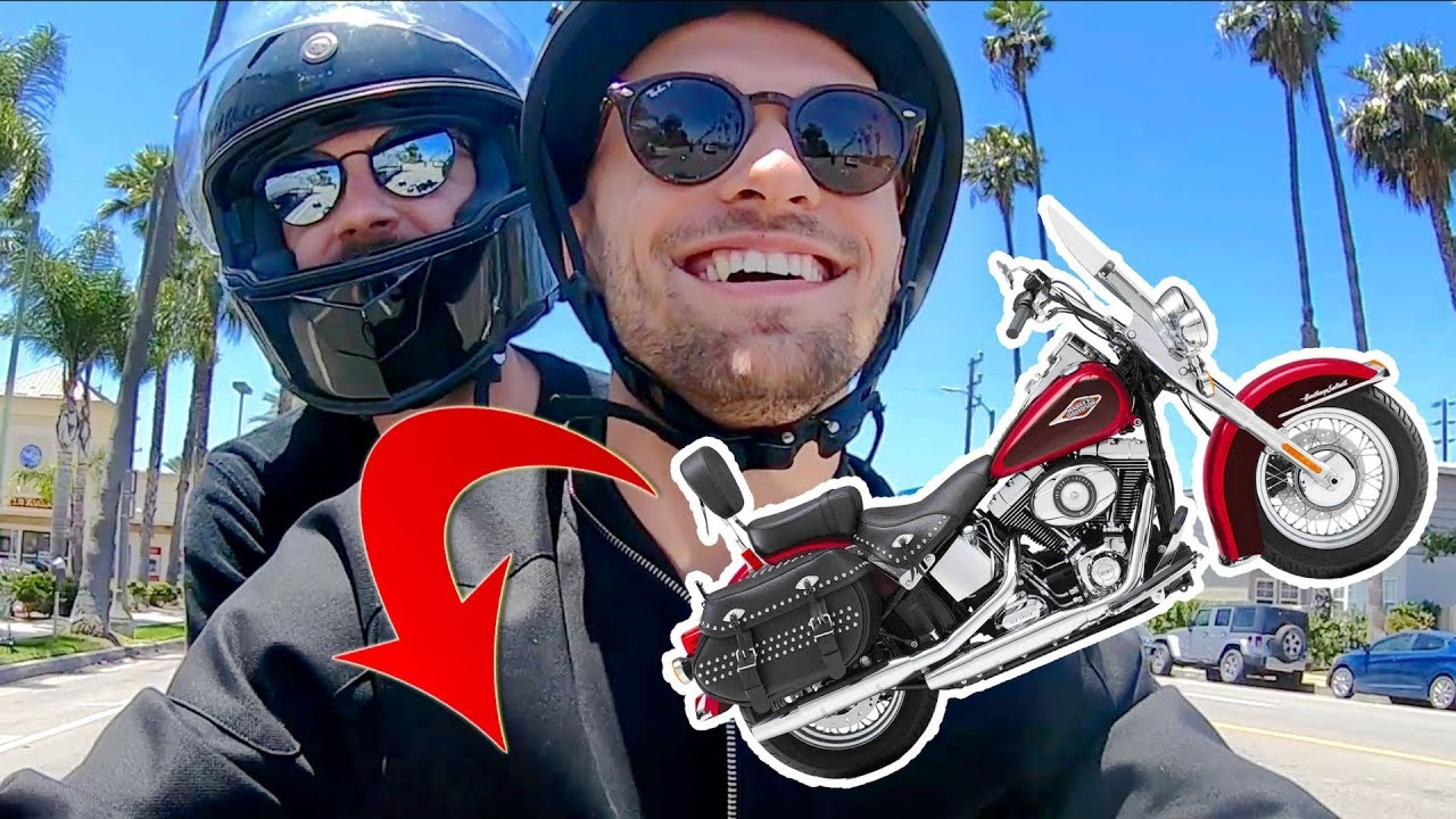 ON ROULE EN HARLEY DAVIDSON (Vlog Los Angeles 1)